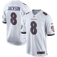 Lamar Jackson Baltimore Ravens Nike Player Game Jersey - White