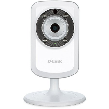 Refurbished D Link Dcs 933L Day And Night Wi Fi Video Security Camera   White