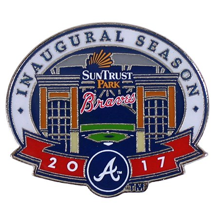 Atlanta Braves Suntrust Park 2017 Inaugural Season Pin   Limited 1 000