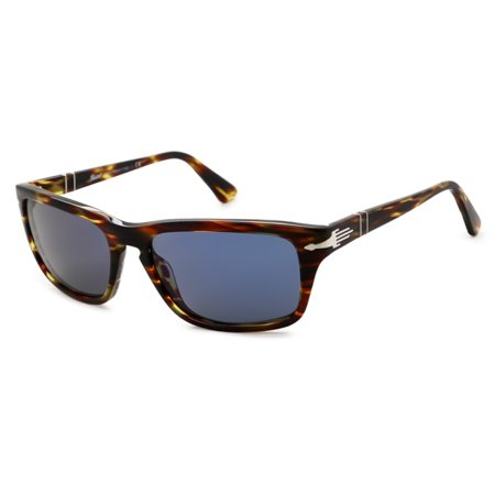 0c07af13eed9 Persol - Persol Sunglasses PO3074 / Frame: Striped Green Lens: Blue ...