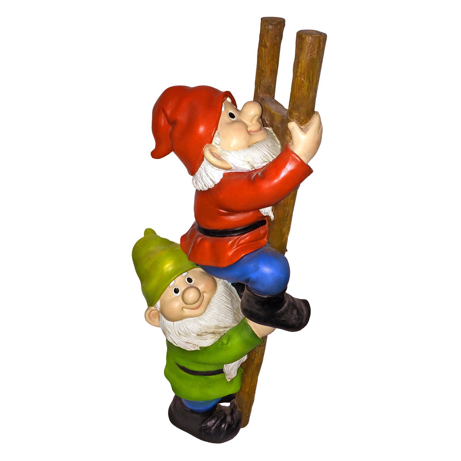 Design Toscano Up the Ladder Climbing Garden Gnome Statue by Design Toscano