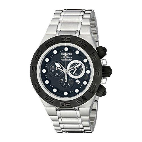 invicta s subaqua 1527 stainless steel chronograph
