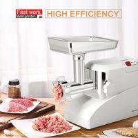 Costway Electric 2000W 2.6 Hp Meat Grinder Industrial Meat Grinder 3 Speed W/3 Blade