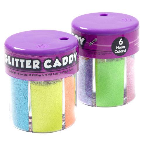 Glitter Caddy Neon Colors
