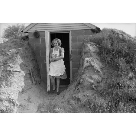 Young Woman Retrieves Home Canned Food From Her Sturdy Food Storage Cellar Underground Food Storage Is Centuries Old And Continued In Rural America Until Replaced By Electric Refrigerators And (Young Women Stores)