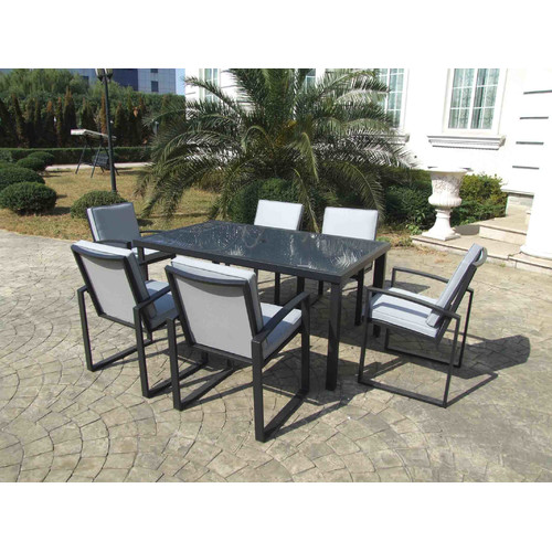 Gazebo Penguin Patio Dining Chair With Cushion (Set Of 6)