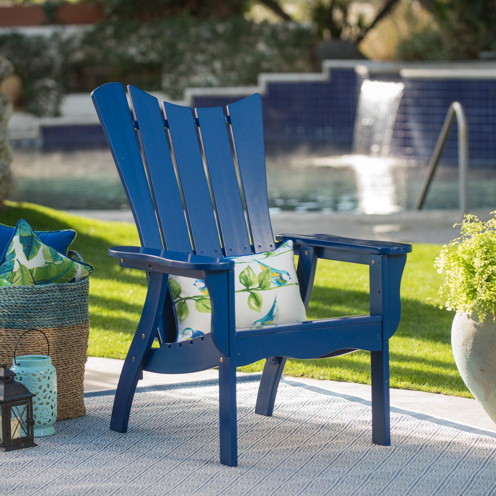 Belham Living Ocean Wave Adirondack Chair - Cobalt
