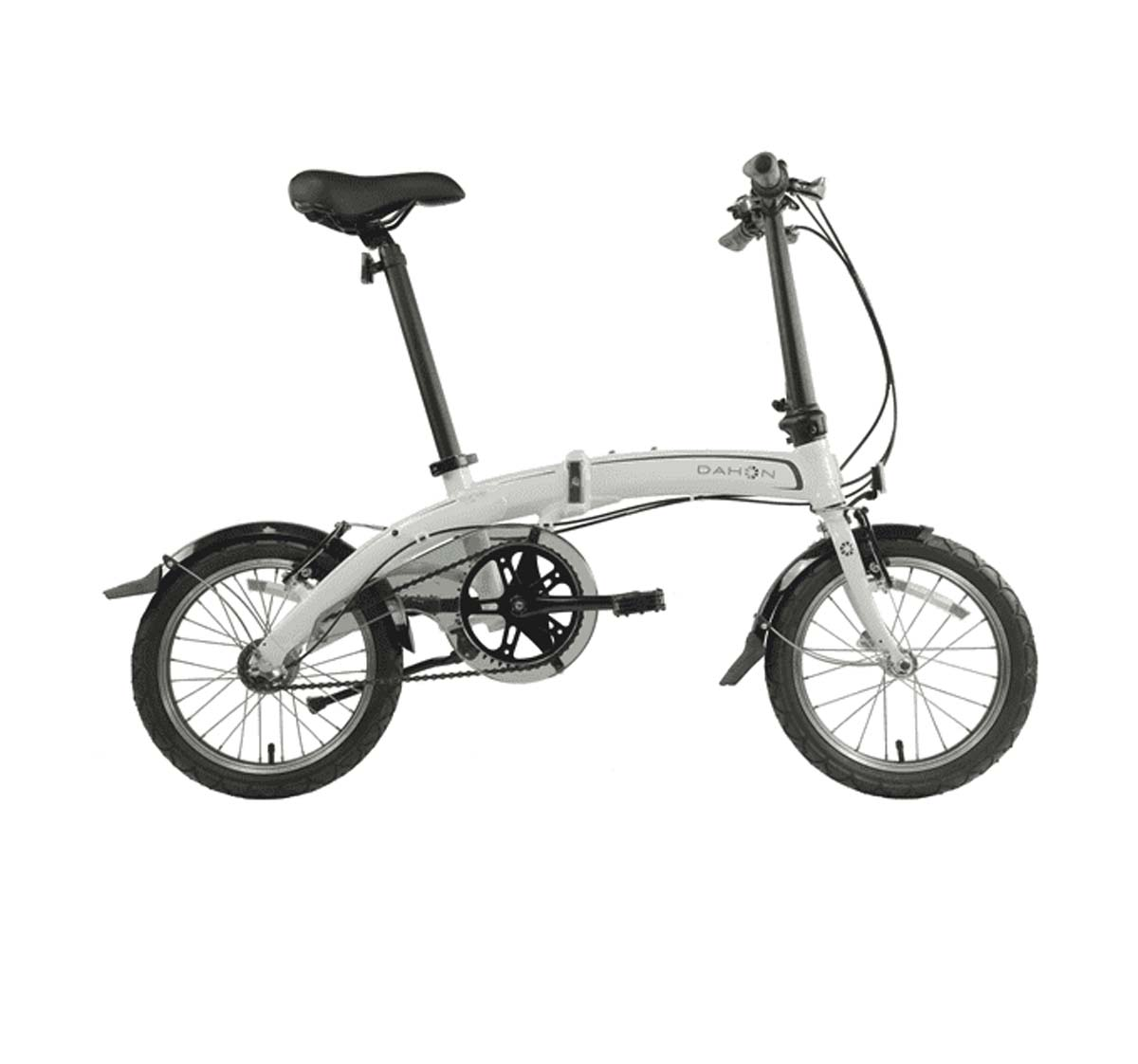 "Dahon Curve I3 2019 White 16"" 3 Speed Folding Bike Bicycle"