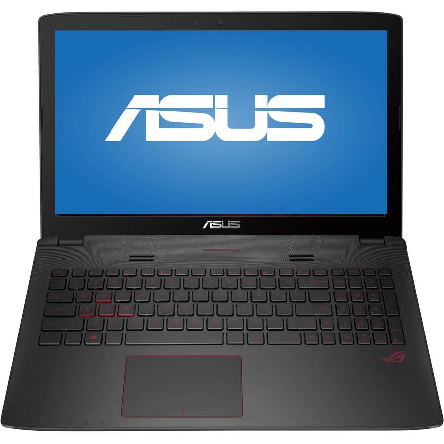 "ASUS Metallic 15.6"" GL552VW-DH74 Laptop PC with Intel Core i7-6700HQ Processor, 16GB Memory, 1TB Hard Drive and Windows 10"