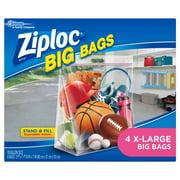 Ziploc Brand Big Bags, XL, 4 Count