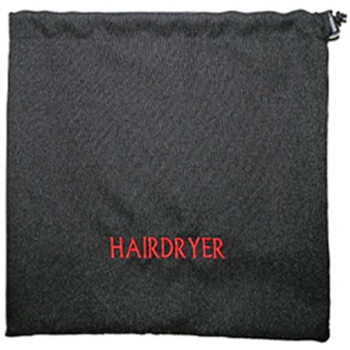 American Supply Pack of 12 Hair Dryer Bag, Black
