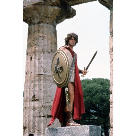 Holding Sword (Harry Hamlin Clash of the Titans Holding Sword and Shield 24x36)