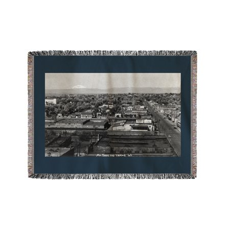Party City Yakima (Yakima, Washington - Aerial View of the City (60x80 Woven Chenille Yarn)