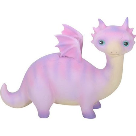Purple Baby Dragon Ollie Fantasy Figurine Statuette Mythical Fairy Tale New