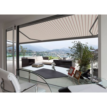Image of 12FT C SERIES SEMI-CASSETTE ELECTRIC RETRACTABLE AWNING 10FT