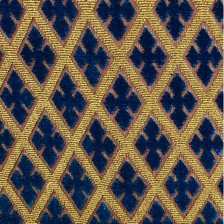 Plutus PBKR1913-2026-DP Zurie Bliss Prussian Blue Luxury Throw Pillow, 20 x 26 in. Standard - image 1 de 3