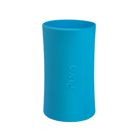 Pura Kiki Tall Silicone Sleeve for Bottle (Plastic Free, NonToxic Certified, BPA Free)