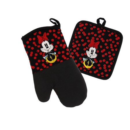 Best Brands Disney Kitchen Accessories, Available in 2pk Mini Oven Mitts and Oven Mitt & Potholder