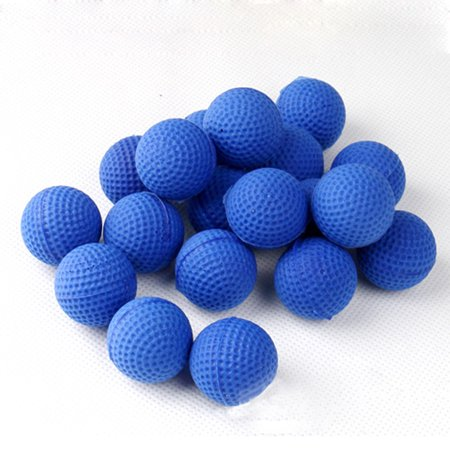 1000 Rounds Bullets - 100Pcs Bullet Balls Rounds Compatible For Nerf Rival Apollo Child Toy BU