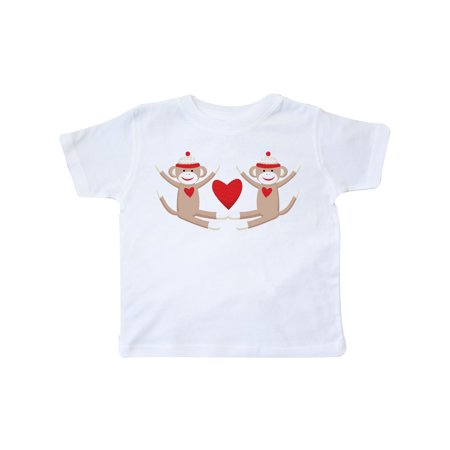 Sock Monkey Twins Toddler T-Shirt (Sock Monkey Infant Clothes)