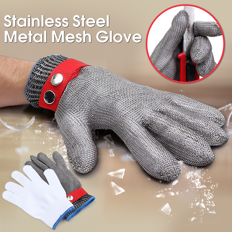 Butcher Glove Cut Proof Stab Resistant Safety Gloves Kitchen Level 5 Protection