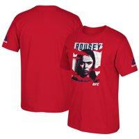 Ronda Rousey Reebok Youth 2016 UFC International Fight Week Poster T-Shirt - Red
