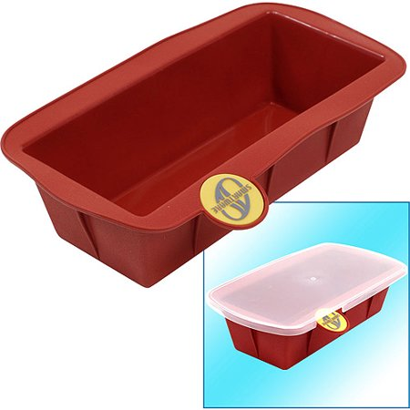 Smartware Silicone Loaf Pan With Storage Lid Terracotta