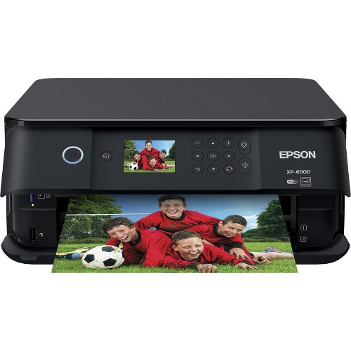 Epson Expression Premium XP-6000 Wireless Color Photo Printer with Scanner & Copier
