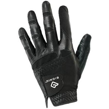 Bionic Glove Mens Stablegrip With Natural Fit Golf Glove Regular X-Large Left Black