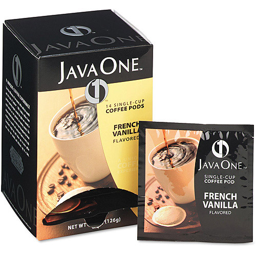 Distant Lands French Vanilla Single Cup Coffee Pods, 14ct