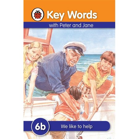 Key Words with Peter and Jane #6 We Like To Help Series B (Words That Start With B For Halloween)