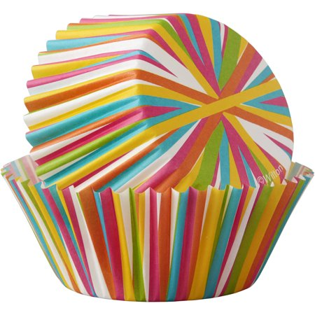 Wilton Standard Color Wheel Baking Cups  415 6035