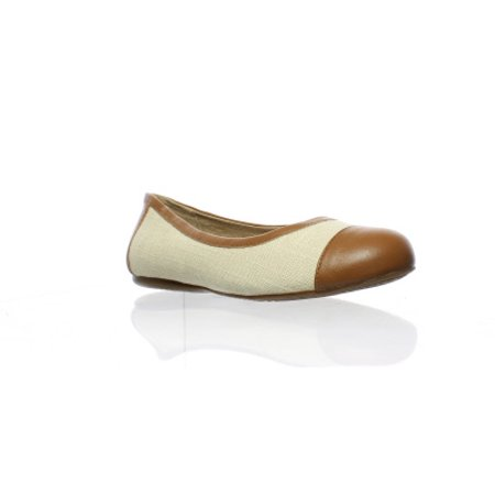 Softwalk Womens Napa Natural Ballet Flats Size 5.5