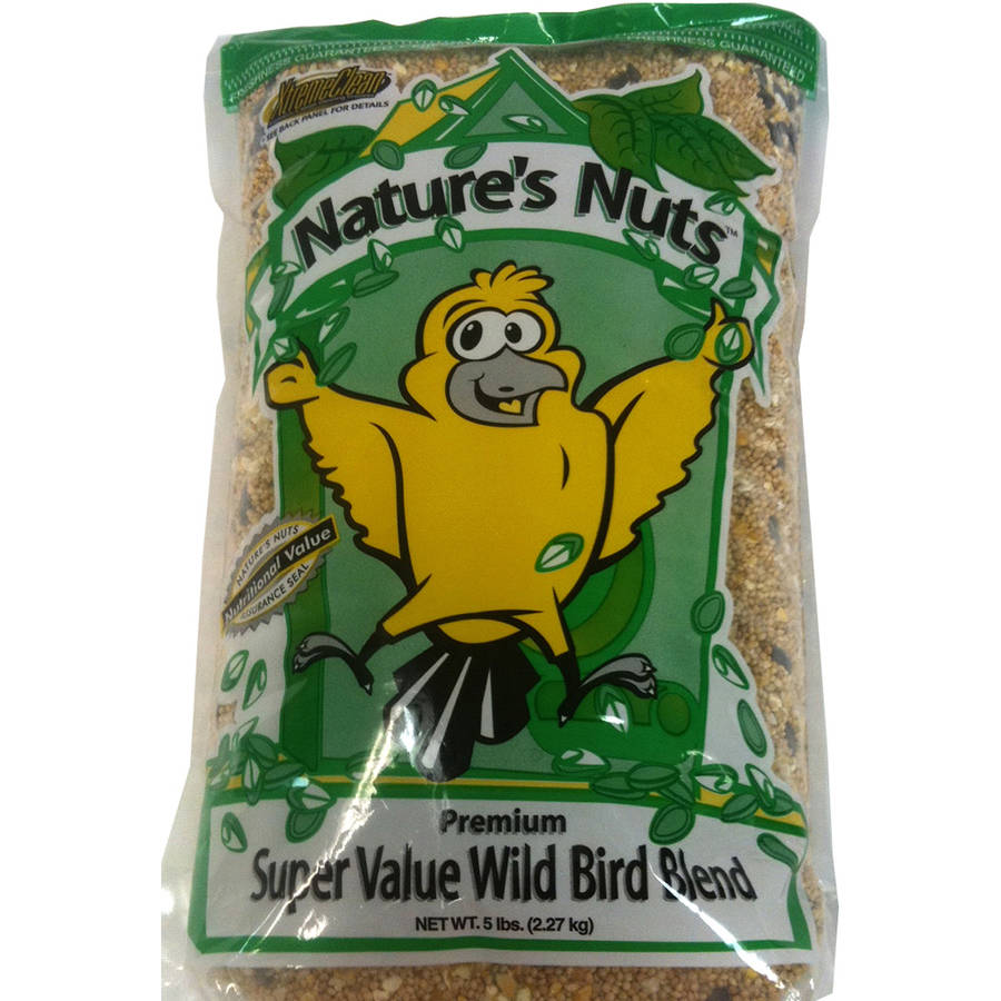Natures Nuts 193076 5 Lb Wild Bird Seed