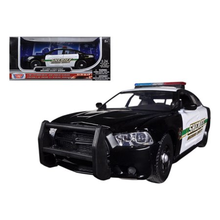 2014 Dodge Charger Pursuit Socorro County Sheriff Police 1/24 Diecast Car Model by Motormax ()