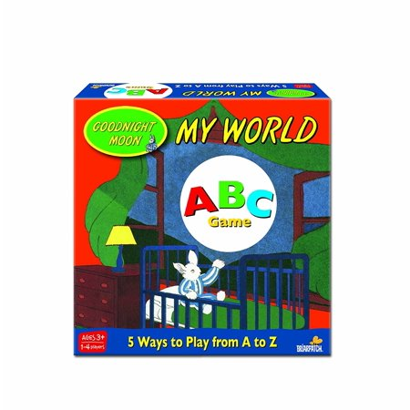 Goodnight Moon My World ABC Game, For ages 3+ and for 1 - 4 players By Briarpatch Goodnight Moon
