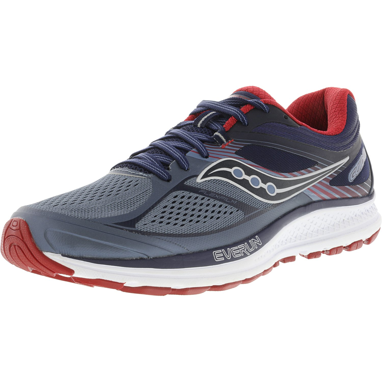 Saucony Men's Guide 10 Lime   Black Citron Ankle-High Running Shoe 9.5M by Saucony