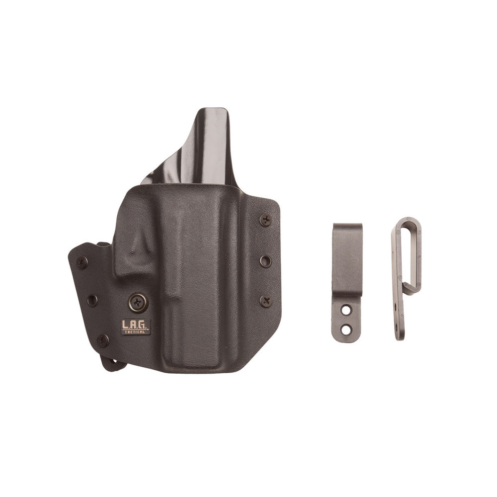 Defender Holster Glock 19   23   32 , Right Hip, Black by LAG Tactical