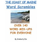 """The Coast of Maine"" Word Scrambles: Over 140 Word Jumble Puzzle Words - eBook"