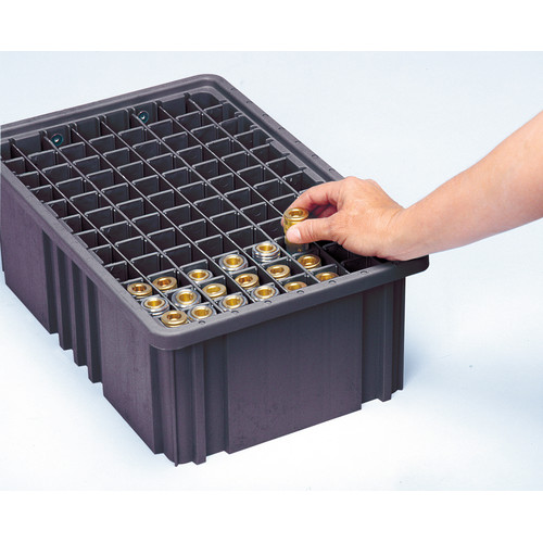 Quantum Storage Conductive Dividable Grid Storage Container Long Dividers for DG93030CO (Set of 6)