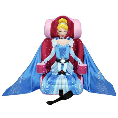 KidsEmbrace Friendship Combination Booster Car Seat, Cinderella
