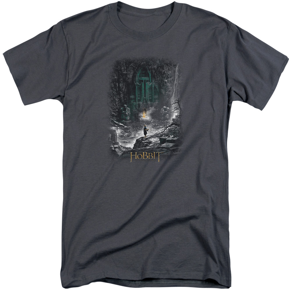 Hobbit Second Thoughts Mens Big and Tall Shirt