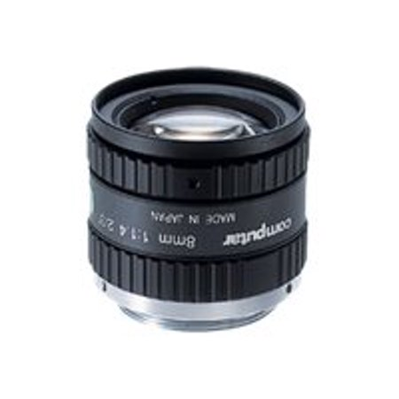 computar M0814-MP2 - CCTV lens - fixed focal - manual iris - 2/3