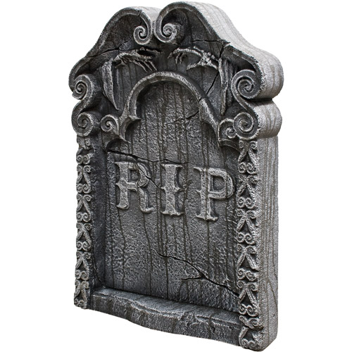 "30"" x 22"" x 4"" Rest in Peace Tombstone"