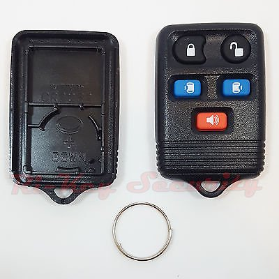 Replacement Remote Shell For Ford Freestar Windstar Keyless Fob Case 5 Buttons (Ford Windstar Center Caps)