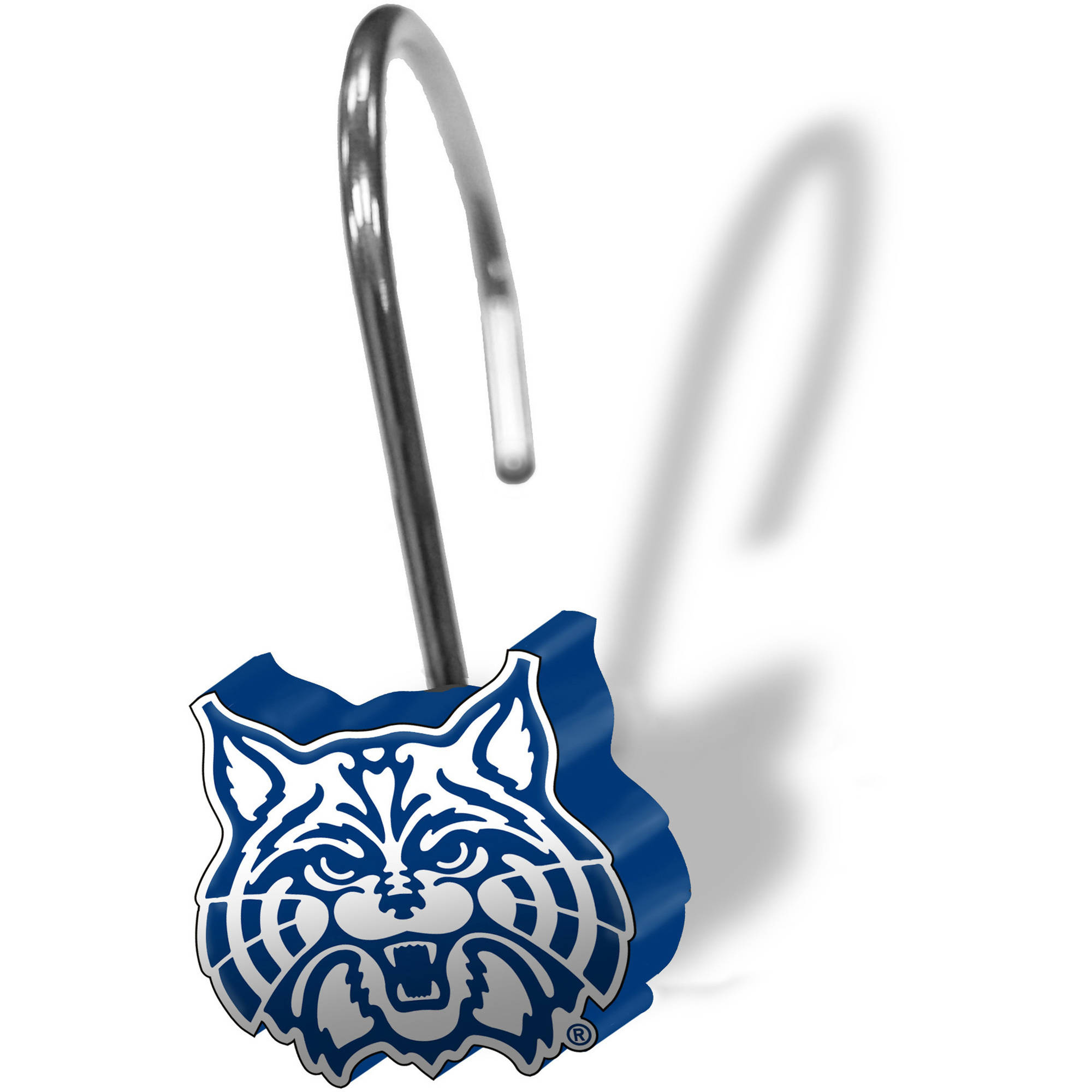 NCAA 12-Piece Shower Curtain Ring Set, Arizona