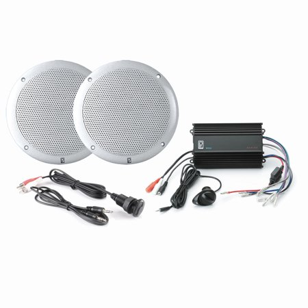 POLY-PLANAR MP3-KIT4-W MP3 INPUT/MA4055W/ME60 WHITE - A Rockin Halloween Mp3