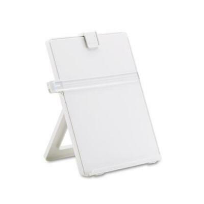 Non Magnetic Desktop Copyholder (Non-Magnetic Desktop Copyholder, Plastic, 125 Sheet Capacity, Platinum)