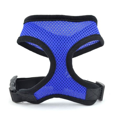 Pet Dog Harness Mesh Vest Dog Leash Dog Harnesses Chest Straps Belt Easy Control for Small Medium Large (Best Harness For Deep Chested Dogs)
