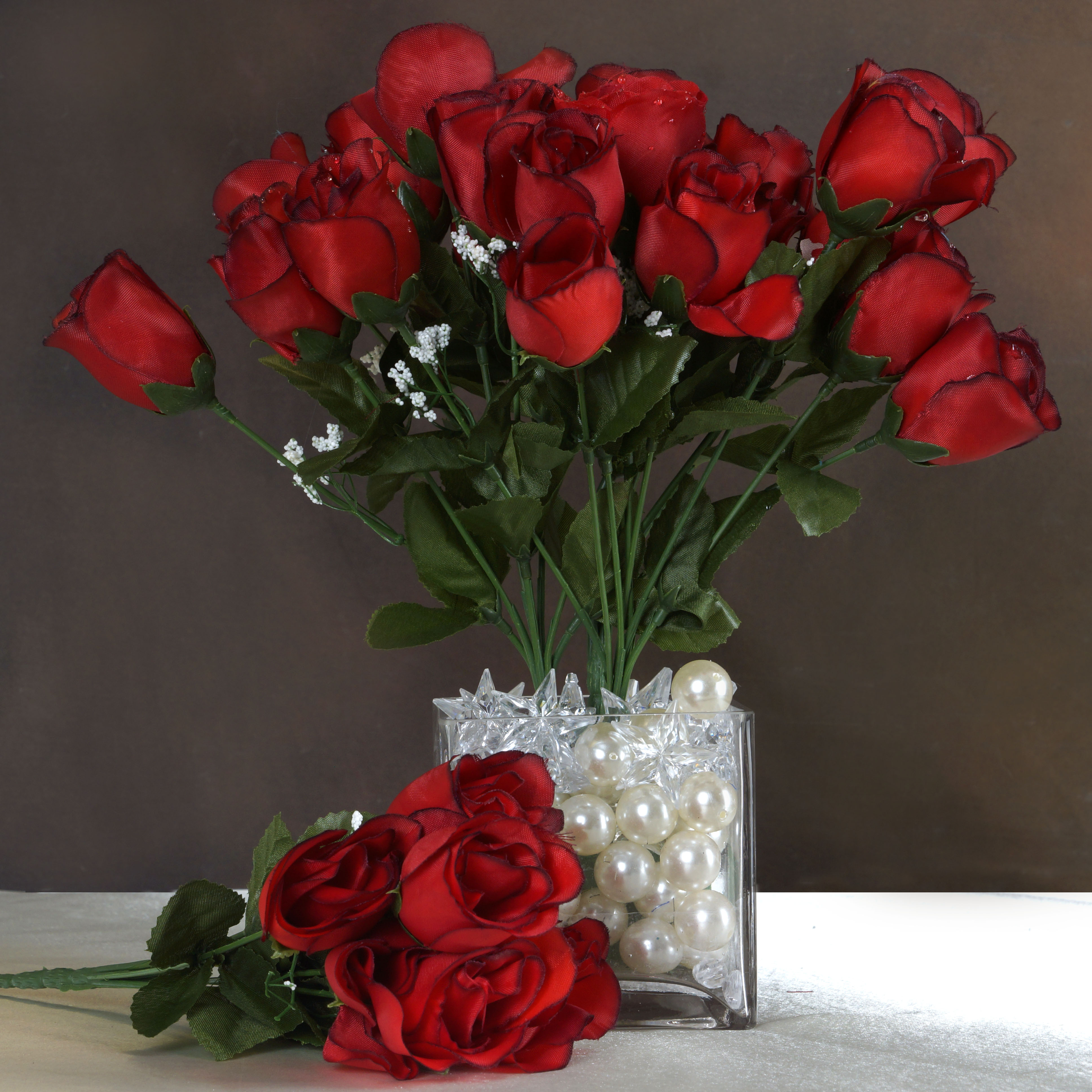 Home Decor Wholesale Suppliers: Efavormart 84 Artificial Buds Roses For DIY Wedding